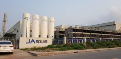 Supplying equipment, executing chemical system of JA Solar factory