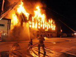 How to escape quickly when a fire occurs